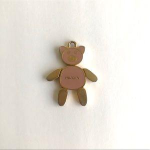 Pink Prada Bear Pendant